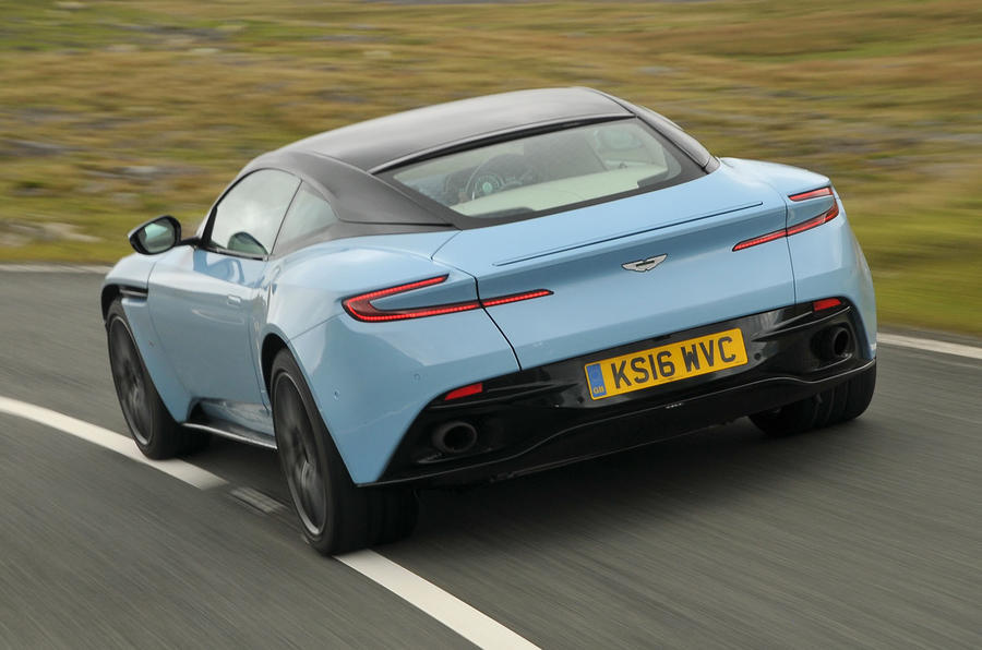 DB11 drives Aston Martin back into the black