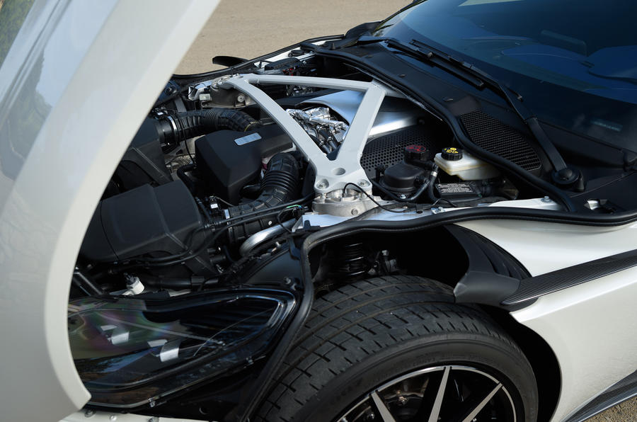 4.0-litre V8 Aston Martin DB11 engine