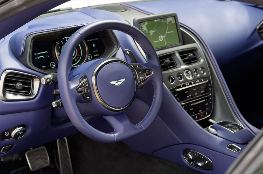 Aston Martin DB11 V8 dashboard