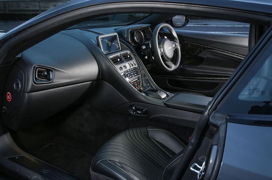 Aston Martin DB11 V8 interior