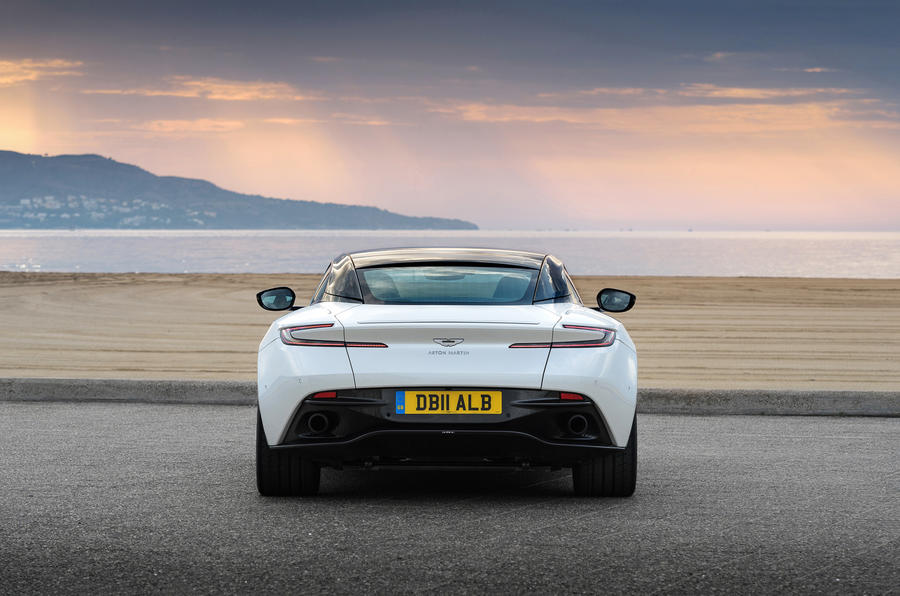 Aston Martin DB11 V8 rear end