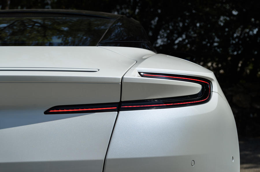 Aston Martin DB11 V8 rear lights