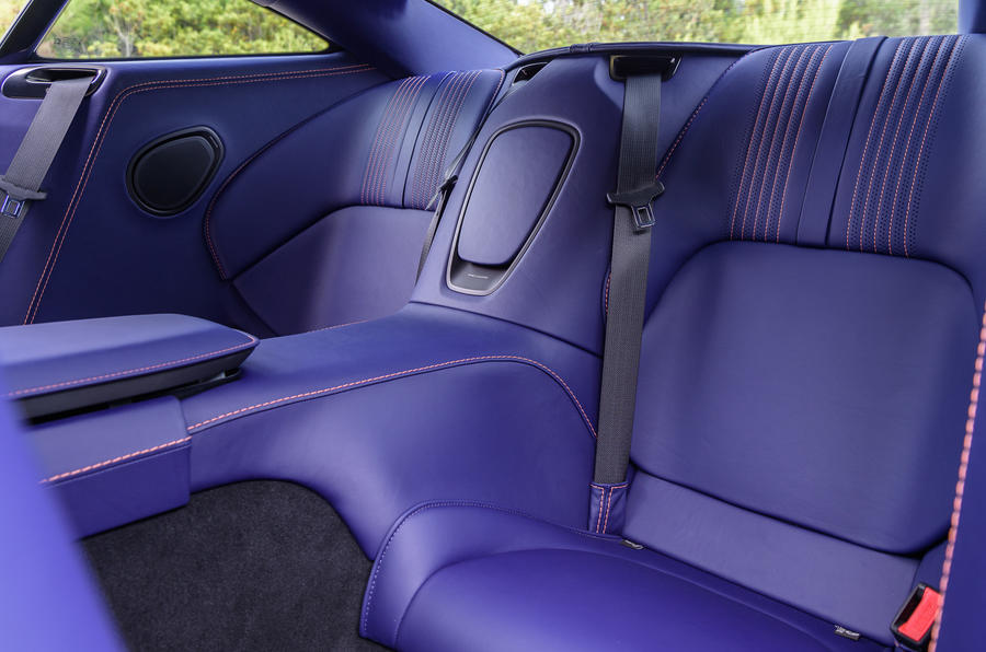 Aston Martin DB11 V8 rear seats