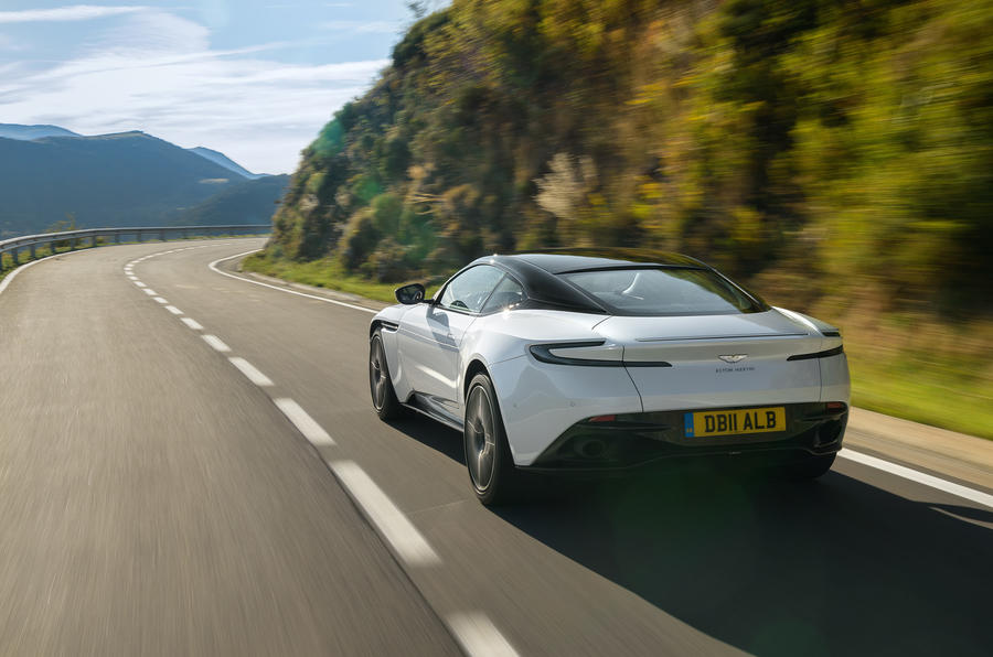 Aston Martin DB11 V8 rear