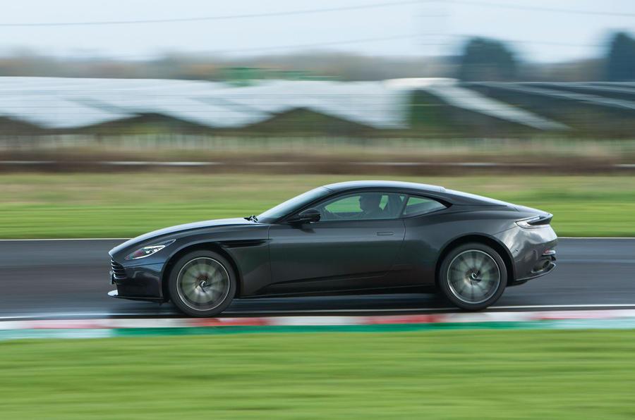 Aston Martin DB11 V8 side profile