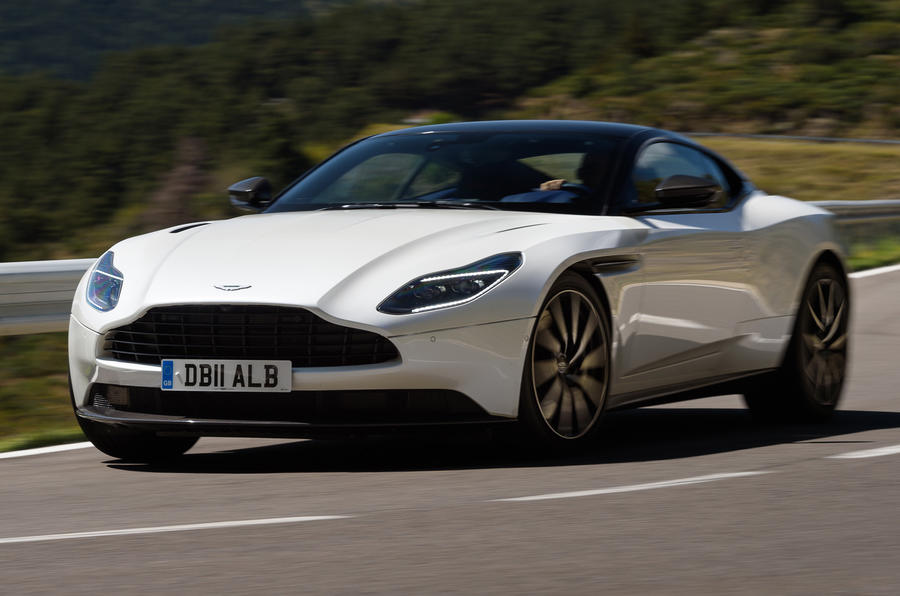 Aston Martin Db11 V8 2017 Review Autocar