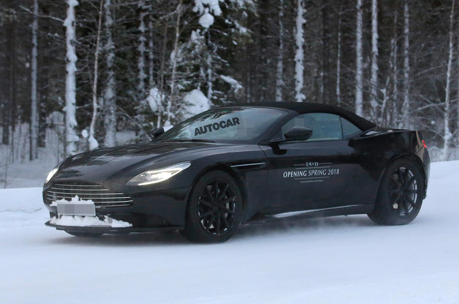 Aston Martin DB11 Volante primed for 2018 launch