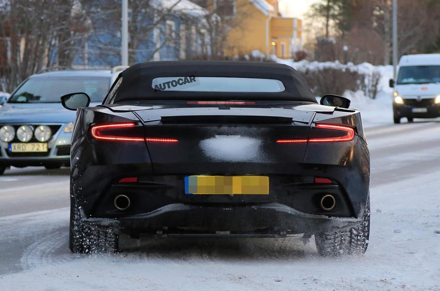 Aston Martin Db11 Volante Tests On Nurburgring Ahead Of