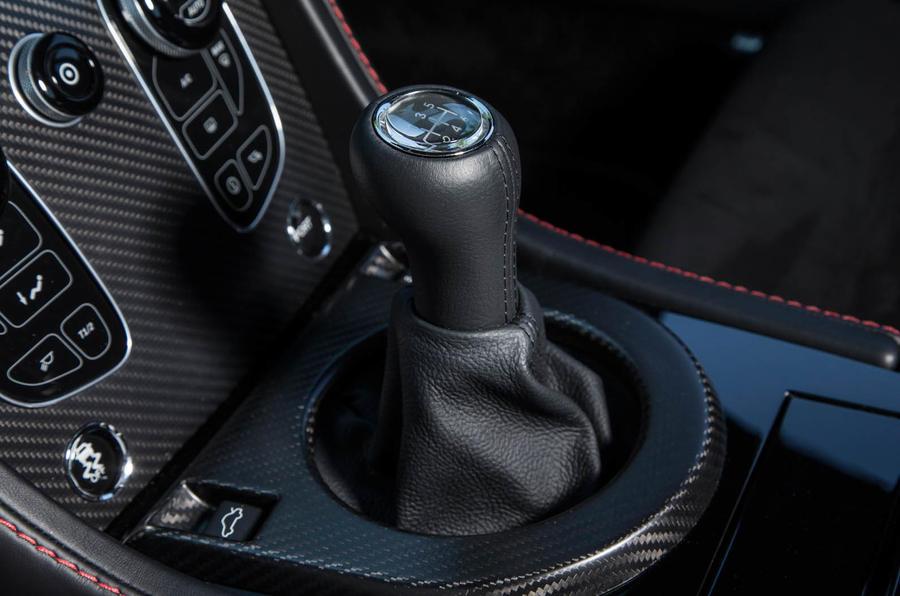 Aston Martin Vantage GT8 manual gearbox
