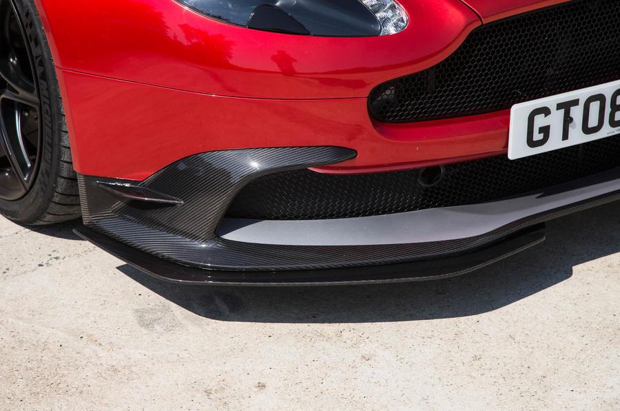 Aston Martin Vantage GT8 front spoiler