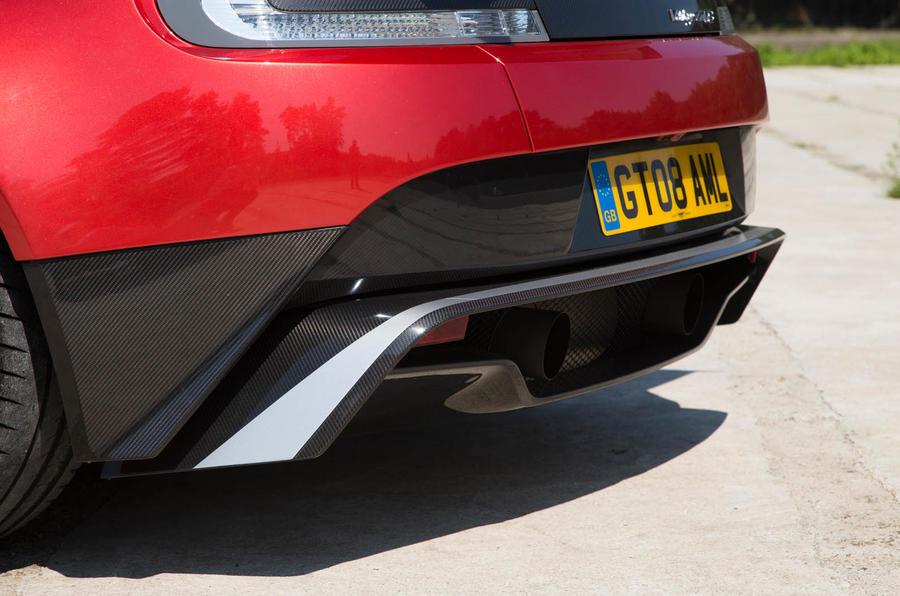 Aston Martin Vantage GT8 rear diffuser