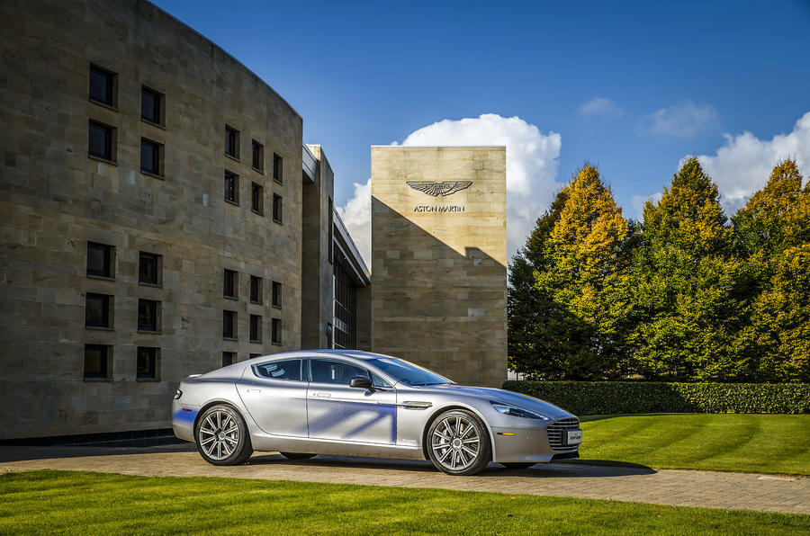 Aston Martin To Develop Electric Car With Chinese Partner