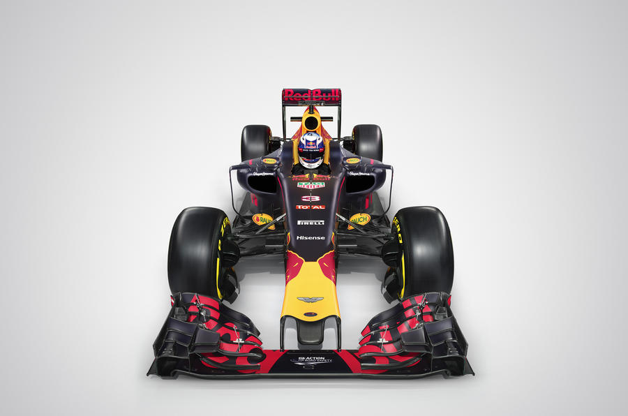 Aston Martin Red Bull F1 car
