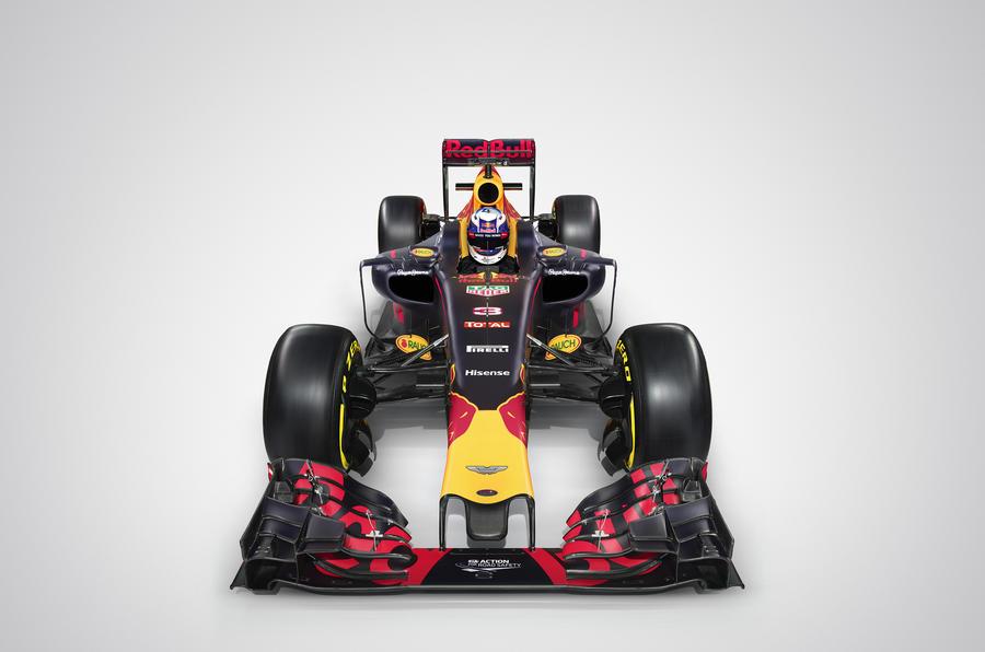 Red Bull Aston Martin F1 car