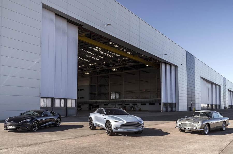 Aston Martin St Athan plant on course to lead charge for electrification