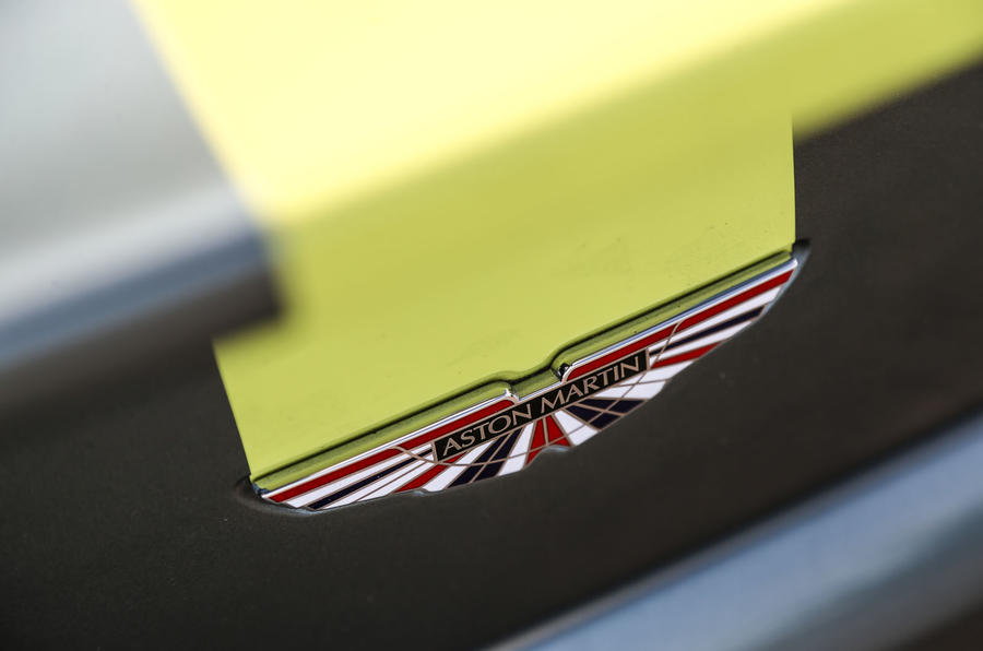 Aston Martin V8 Vantage AMR boot badge