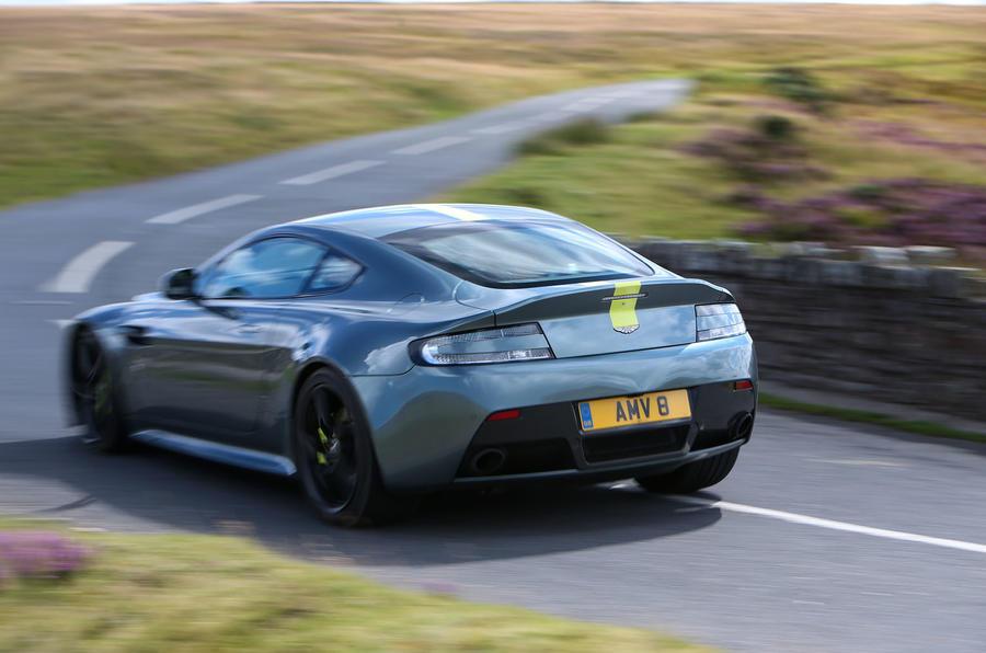 Aston Martin V8 Vantage AMR rear