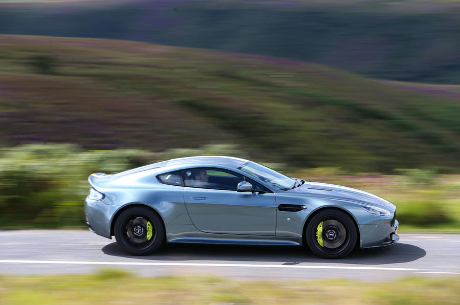 Aston Martin V8 Vantage AMR side profile