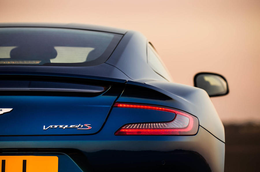New Aston Martin Vanquish S makes 600PS of power