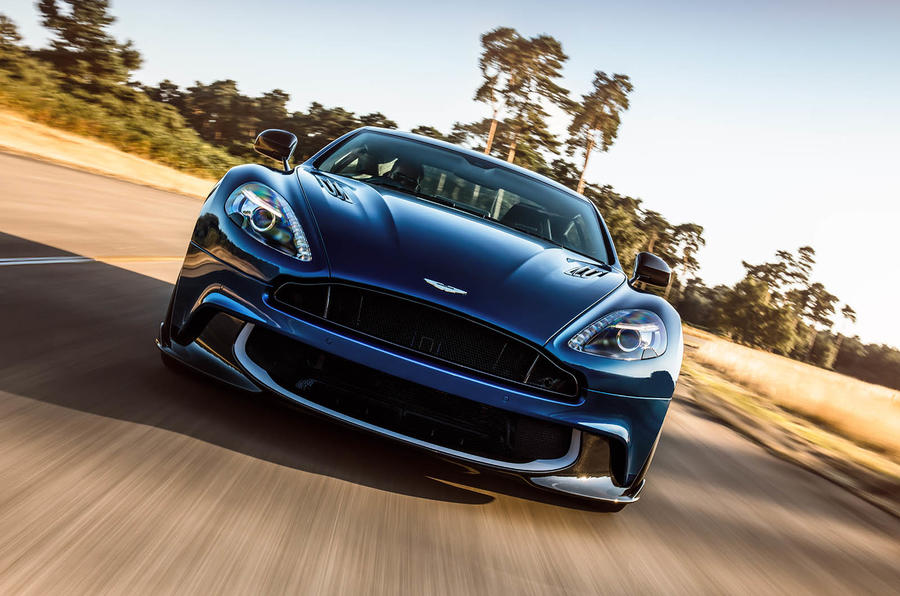 Updated Aston Martin Vanquish S revealed