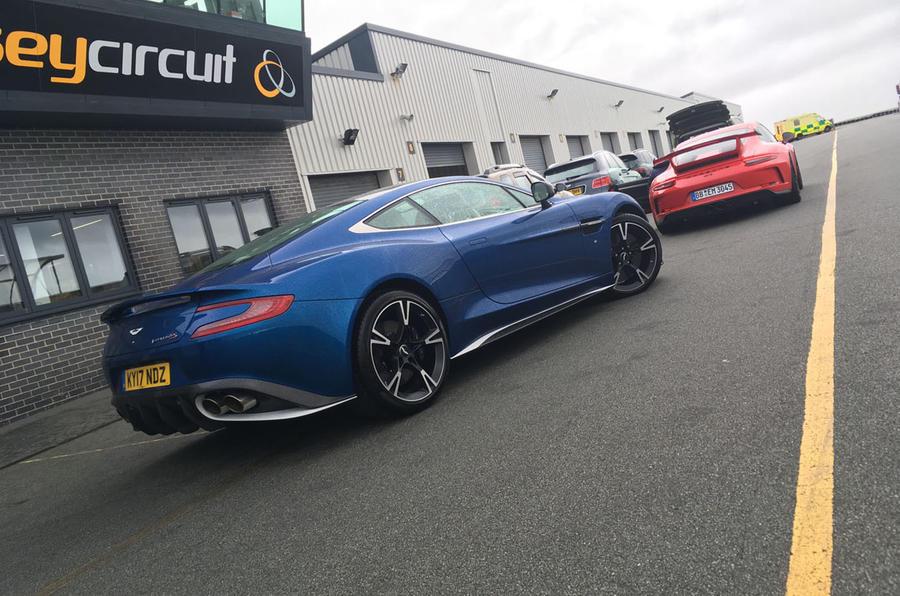 Aston Martin Vanquish S ready to go on track