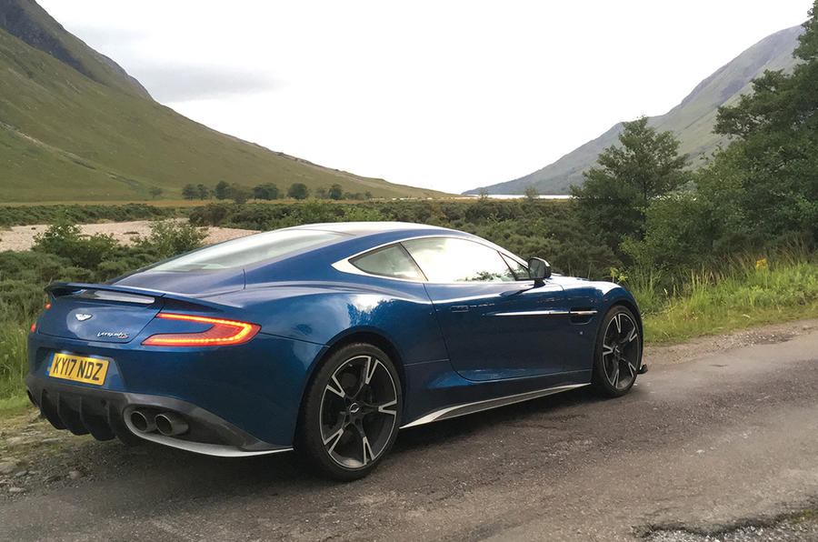 Aston Martin Vanquish S in Angelsey
