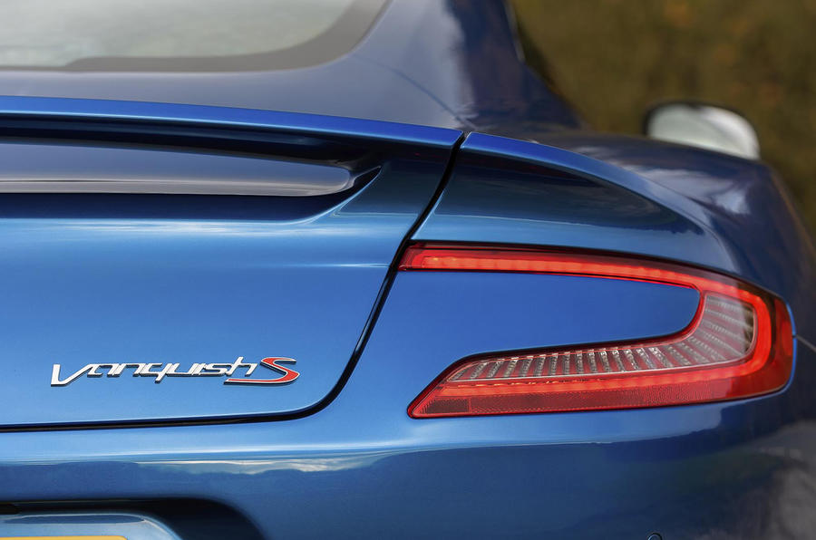 Aston Martin Vanquish S rear lights