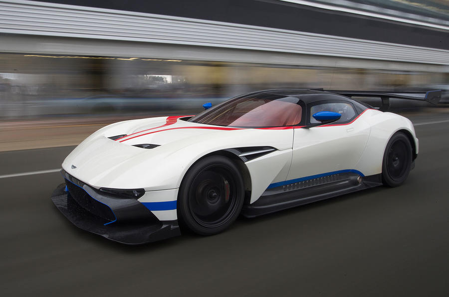 Aston Martin Vulcan flat out at Silverstone | Autocar