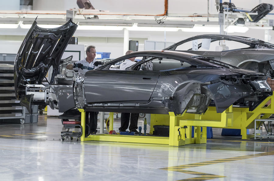 Brexit No-Deal Could Stop Aston Martin Production