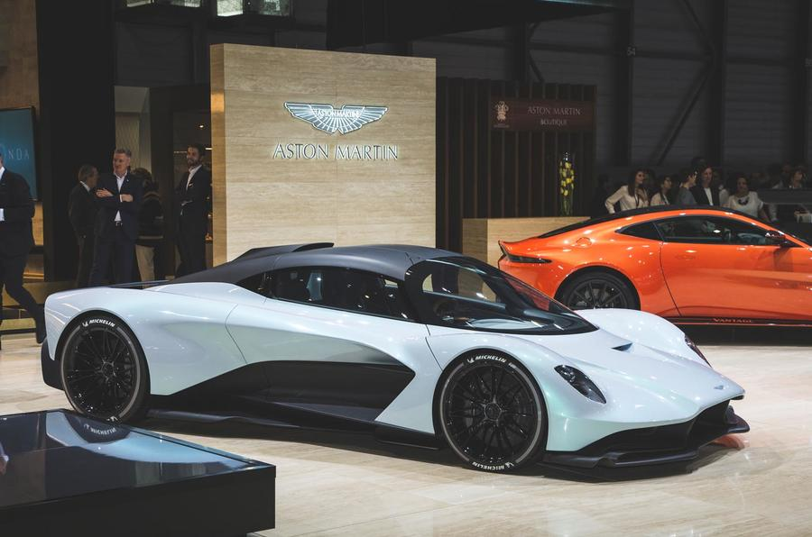 Aston Martin's new mid-engined hypercar named Valhalla