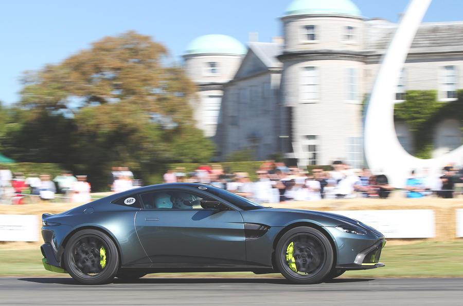 New Aston Martin Vantage Amr Makes Goodwood Debut Autocar