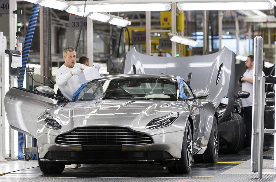 Aston Martin production, sales reach nine-year high