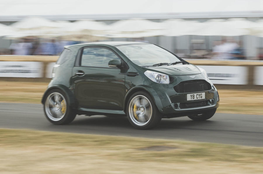 V8 Aston Martin Cygnet Revealed Autocar
