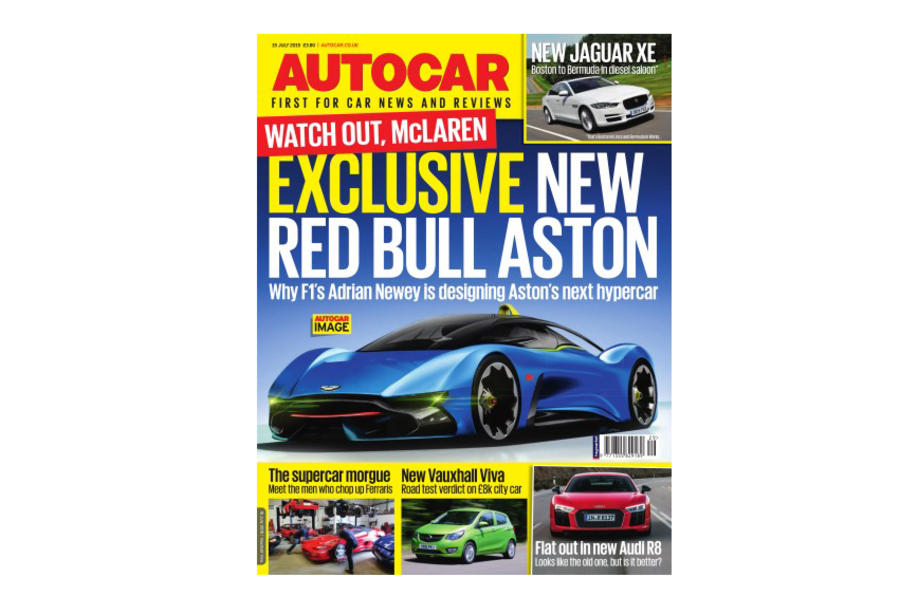 Red Bull Aston Martin Autocar cover