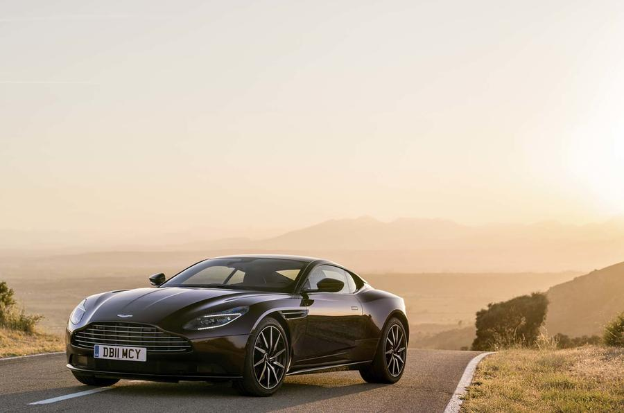 Aston Martin DB11 hero front