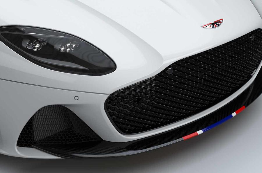 Aston Martin DBS Superleggera Concorde Edition grille