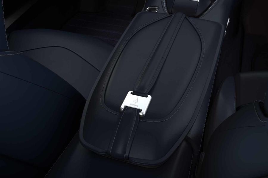 Aston Martin DBS Superleggera Concorde Edition armrest
