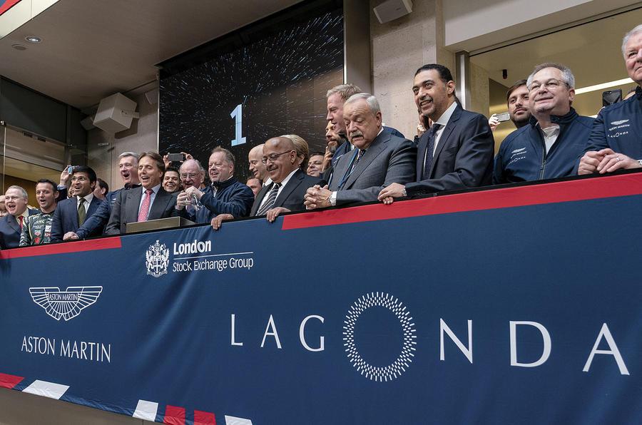 Aston Martin London Stock Exchange IPO - photo by Max Earey
