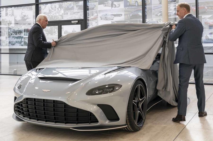 Aston Martin Speedster Lawrence Stroll