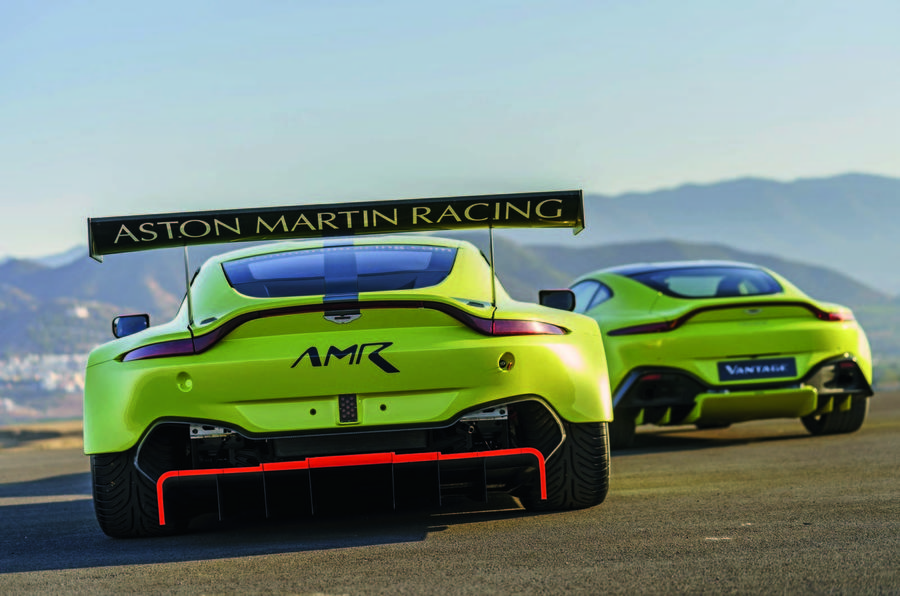 Le Mans 2018 How The New Aston Martin Vantage Gte Was