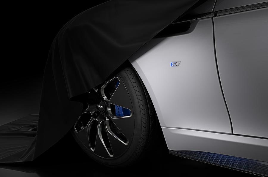 Aston Martin Rapid E teaser image