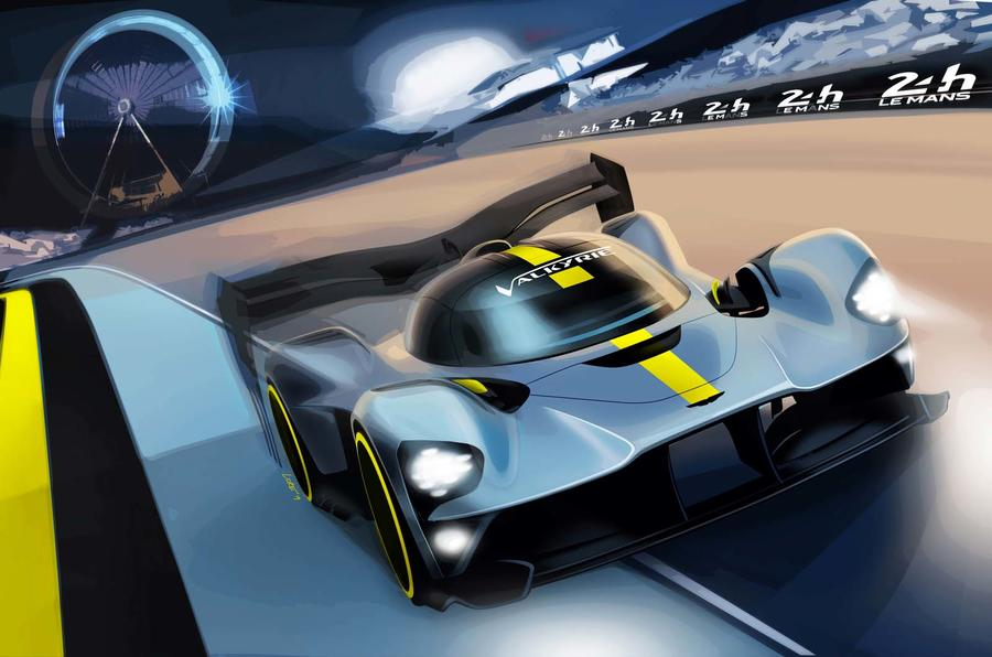 Aston Martin Valkyrie at Le Mans