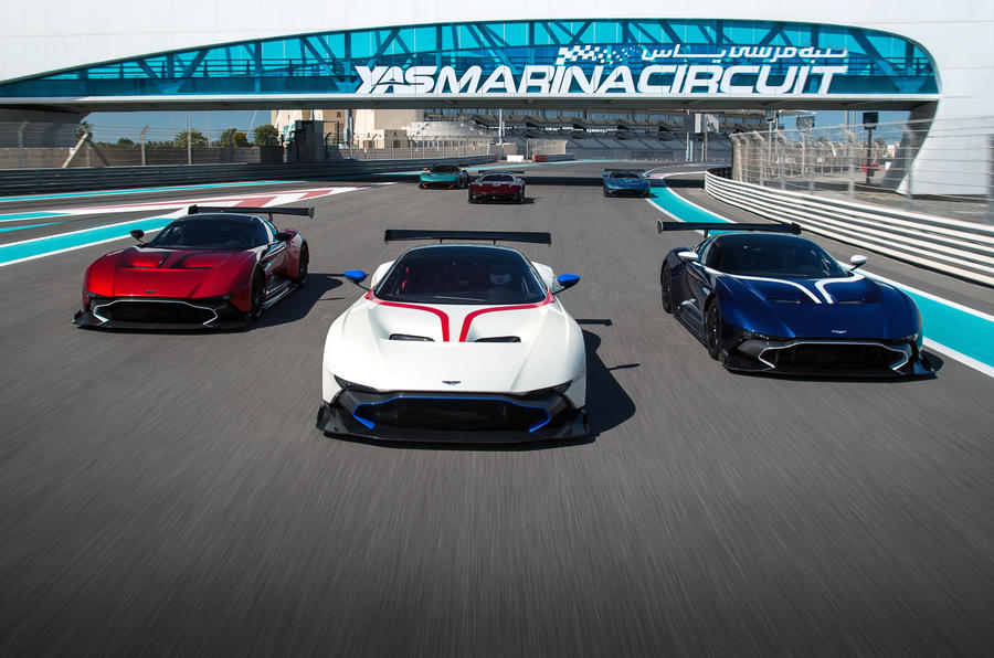 Aston Martin Vulcan driver tuition