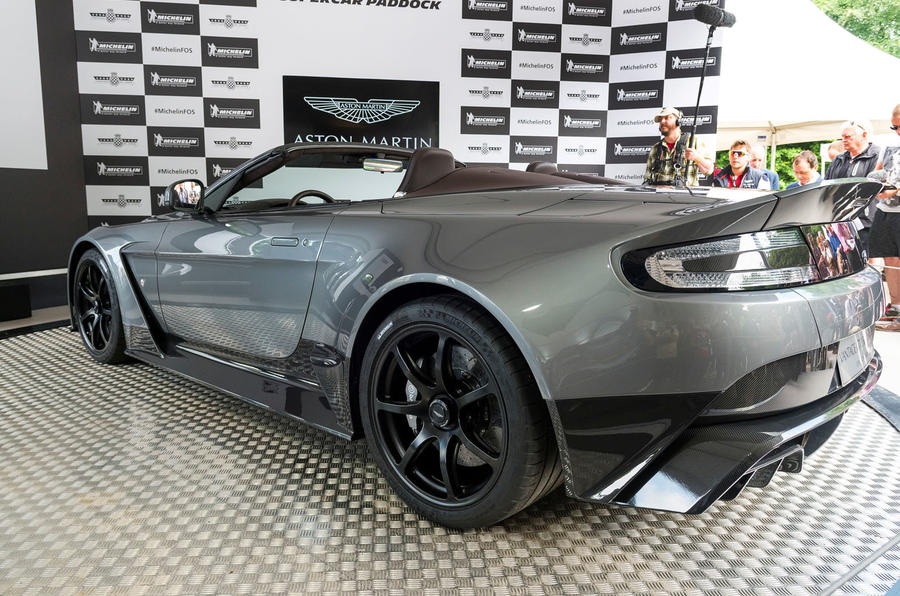 Aston Martin Vantage GT12 Roadster 2016 Goodwood Festival of Speed