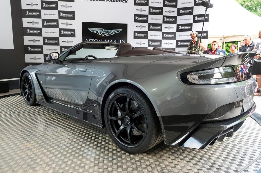 Aston Martin Vantage GT12 Roadster 2016 Goodwood Festival of Speed