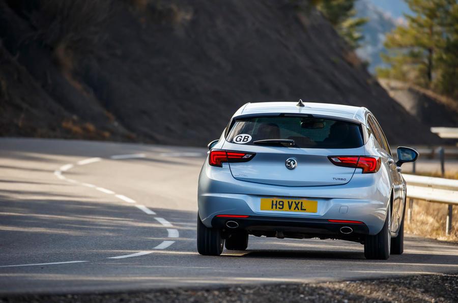 Vauxhall Astra Turbo rear