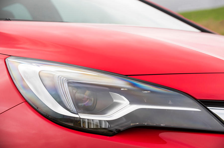Vauxhall IntelliLED headlights