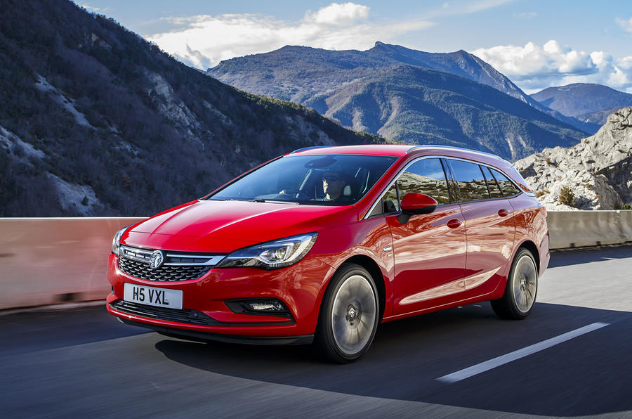 158bhp Vauxhall Astra Sports Tourer