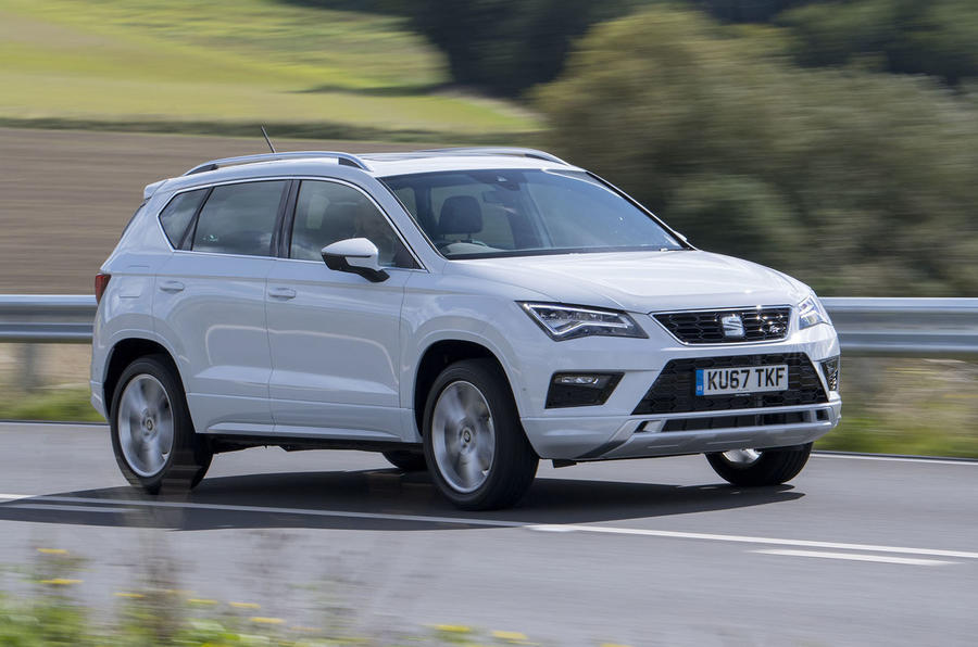seat ateca 2 0 tsi 190 fr 2018 review autocar. Black Bedroom Furniture Sets. Home Design Ideas
