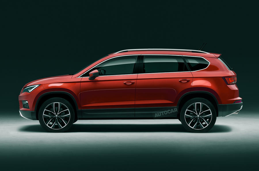 new seat tarraco seven seat suv to be revealed tomorrow autocar. Black Bedroom Furniture Sets. Home Design Ideas